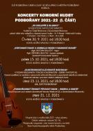 Koncerty Komorní Hudby Podbořany 2021-2022 (I. část) 1